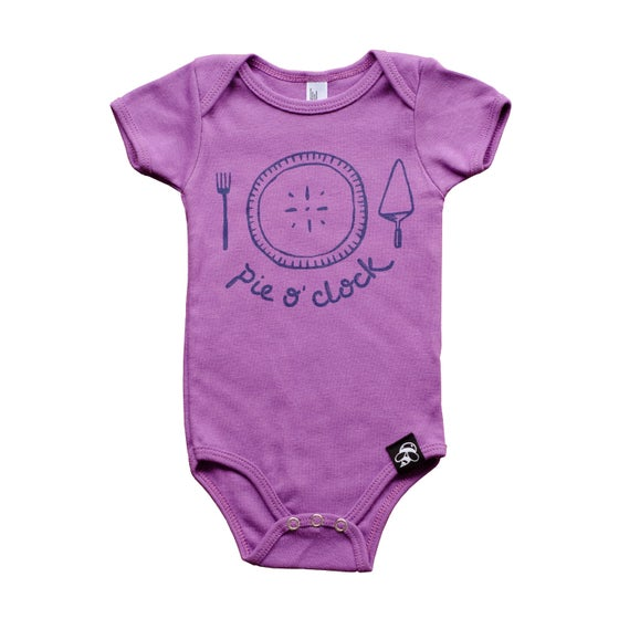 Image of PIE O' CLOCK babies' bodysuit - Organic