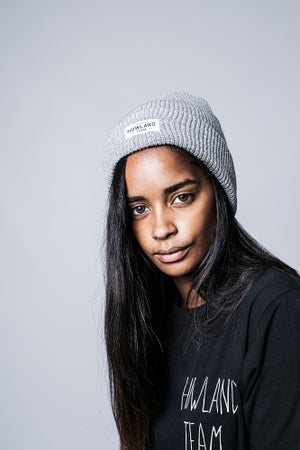 Image of HEATHER HERITAGE GREY BEANIE