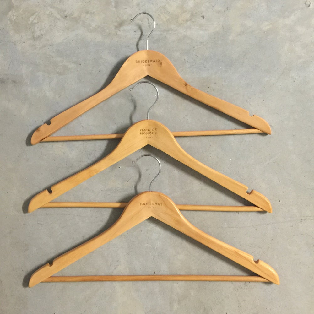 Image of Custom wooden hangers [back in stock]