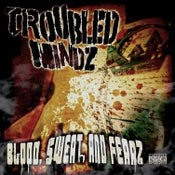 Image of TROUBLED MINDZ- BLOOD SWEAT AND FEARZ