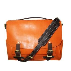 Image of Handmade Leather Messenger Bag / Briefcase / Satchel / Laptop Bag / Men's Bag Women's Bag (n31)