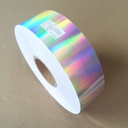 Plain Hologram Eggshell Paper Roll