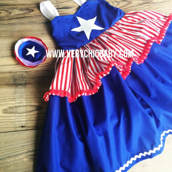 Image of Miss Captain America Dress