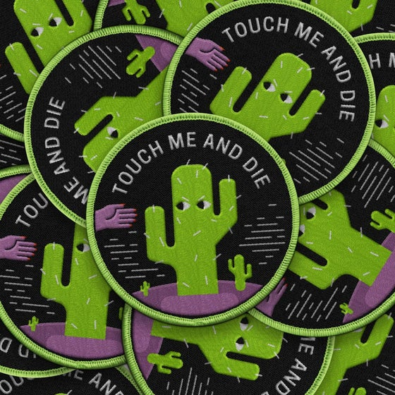 Image of Touch Me and Die Patch
