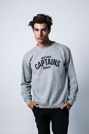 Image of WEST COAST SWEATER GREY