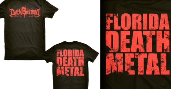 Image of Florida Death Metal Tee