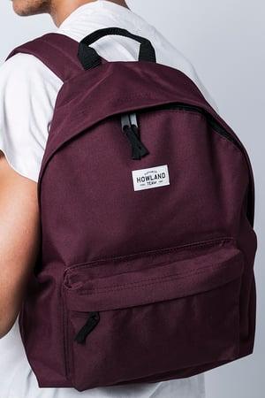 Image of BURGUNDY BAG