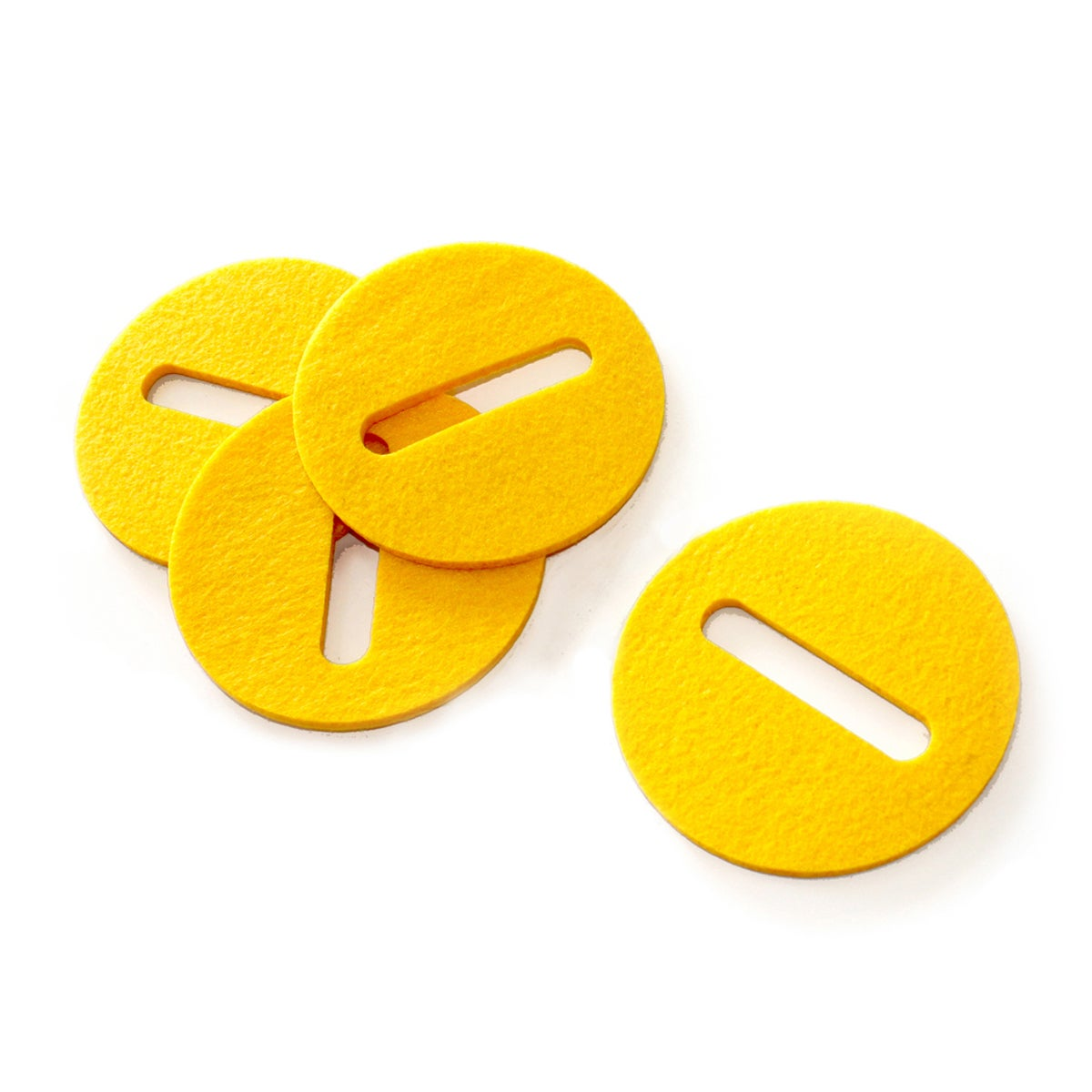 Image of Cupa-Stay Coasters Yellow