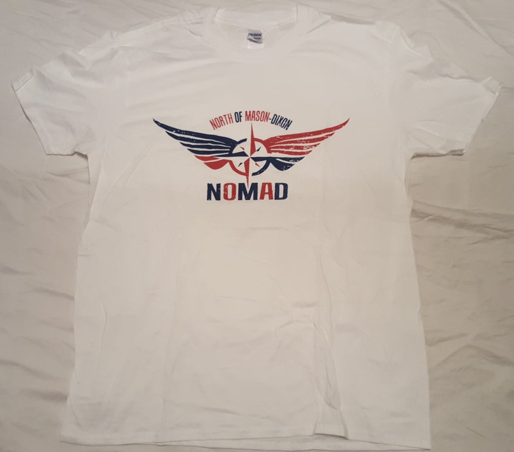 NOMaD Red White and Blue T-Shirt