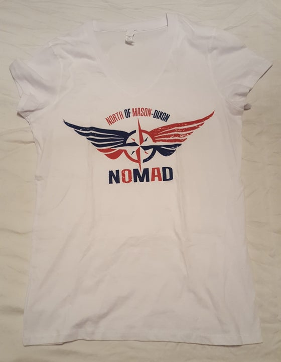 Image of Red White and Blue NOMaD Ladies T-Shirt