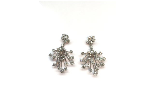 Image of Fancy Diamond Earrings