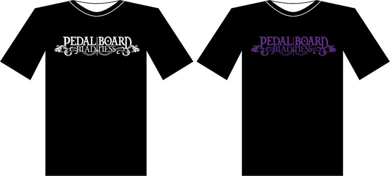 Image of Pedalboard Madness Logo Tee