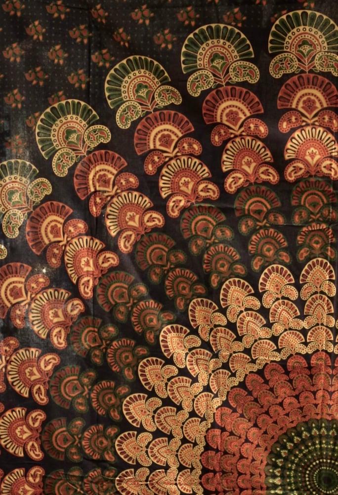 Image of Calming Mandala Tapestry
