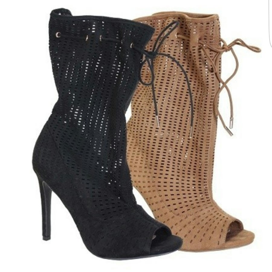 Image of Samatha booties BLACK