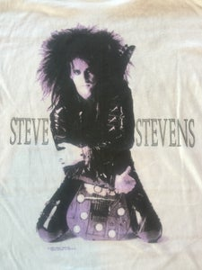 Image of VINTAGE Steve Stevens Shirt- 1989
