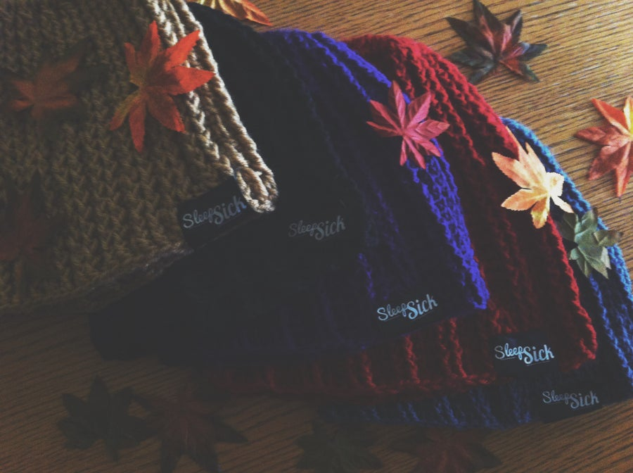 Image of Hand Knit Beanies