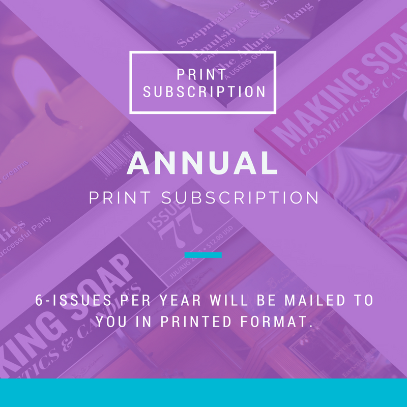 Image of Annual Print Subscription
