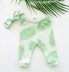 Baby + Kids' Palm Frond Organic Leggings