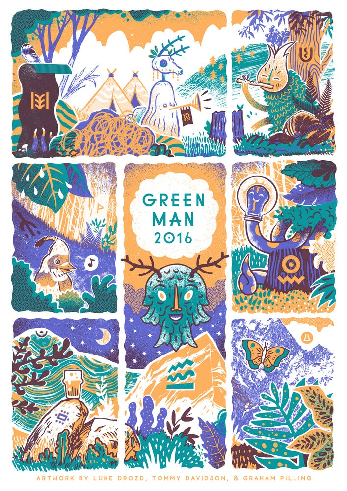 Image of Green Man Festival 2016 Poster