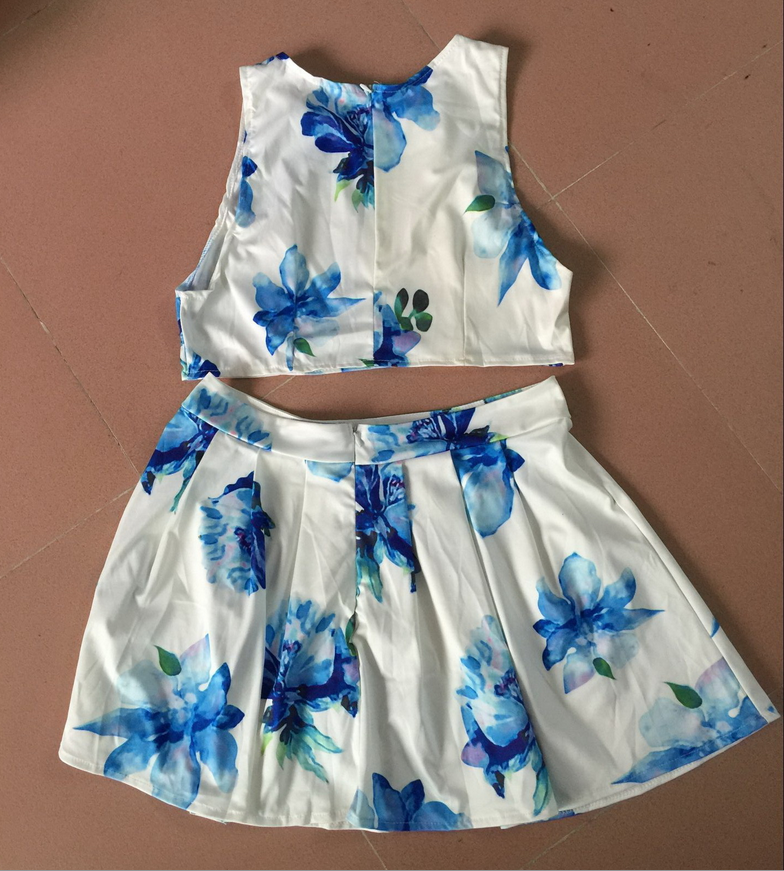 Image of Lovely printing two dress