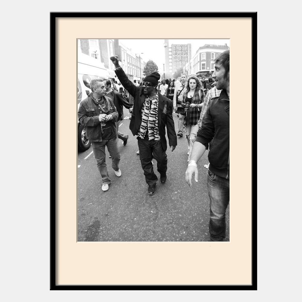 "Image of Toots and the Maytals: Notting Hill Carnival 2011 (16x12"" 406x304mm C-type print)"