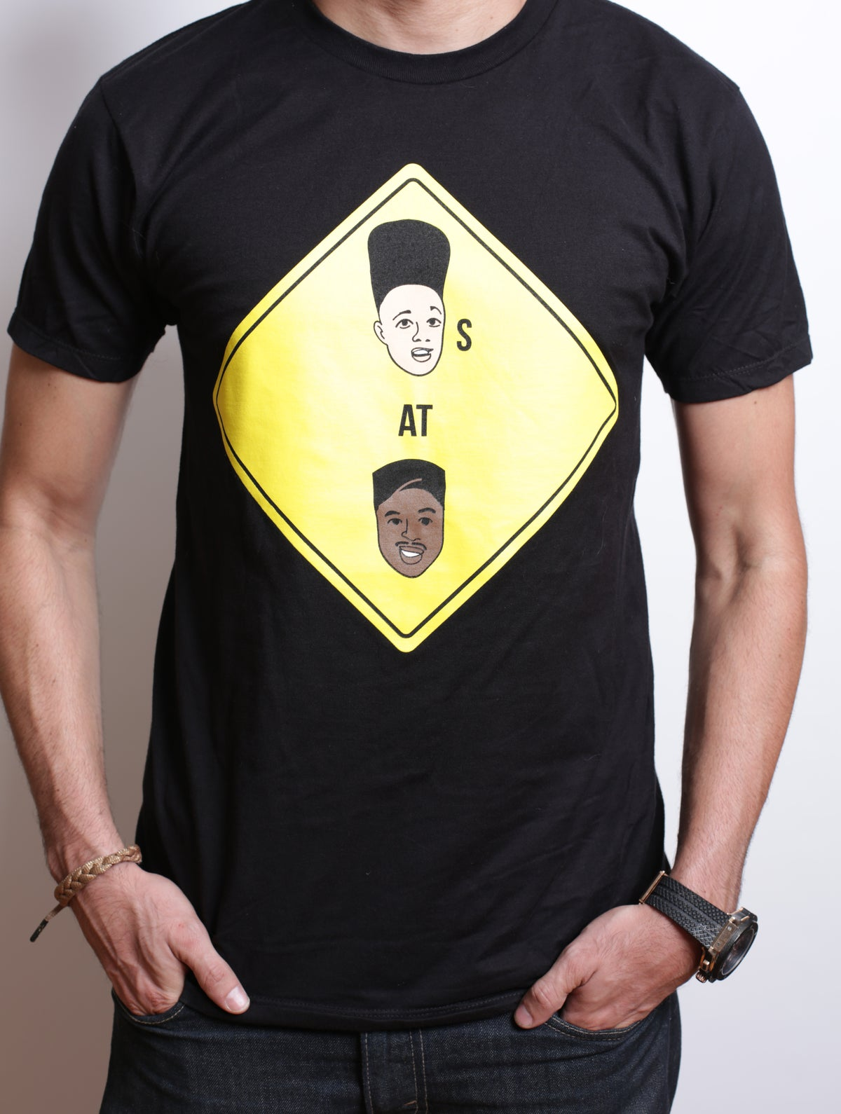 Image of Kids at Play Black Graphic Tee