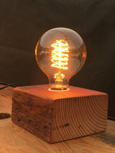 Image of Small block lamp
