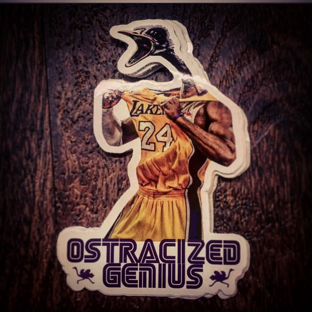 "Image of OGxKOBE ""Beast"" sticker"