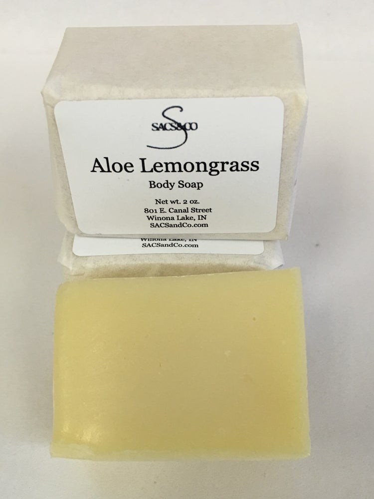 Image of Aloe Lemongrass Body Soap