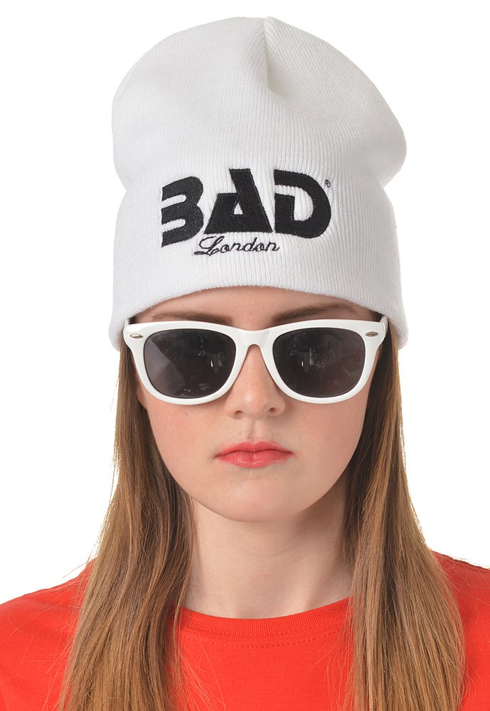 Image of Bad Clothing London Designer Couture Urban Street Wear and Fitness Fashion Premium Unisex Beanie Hat
