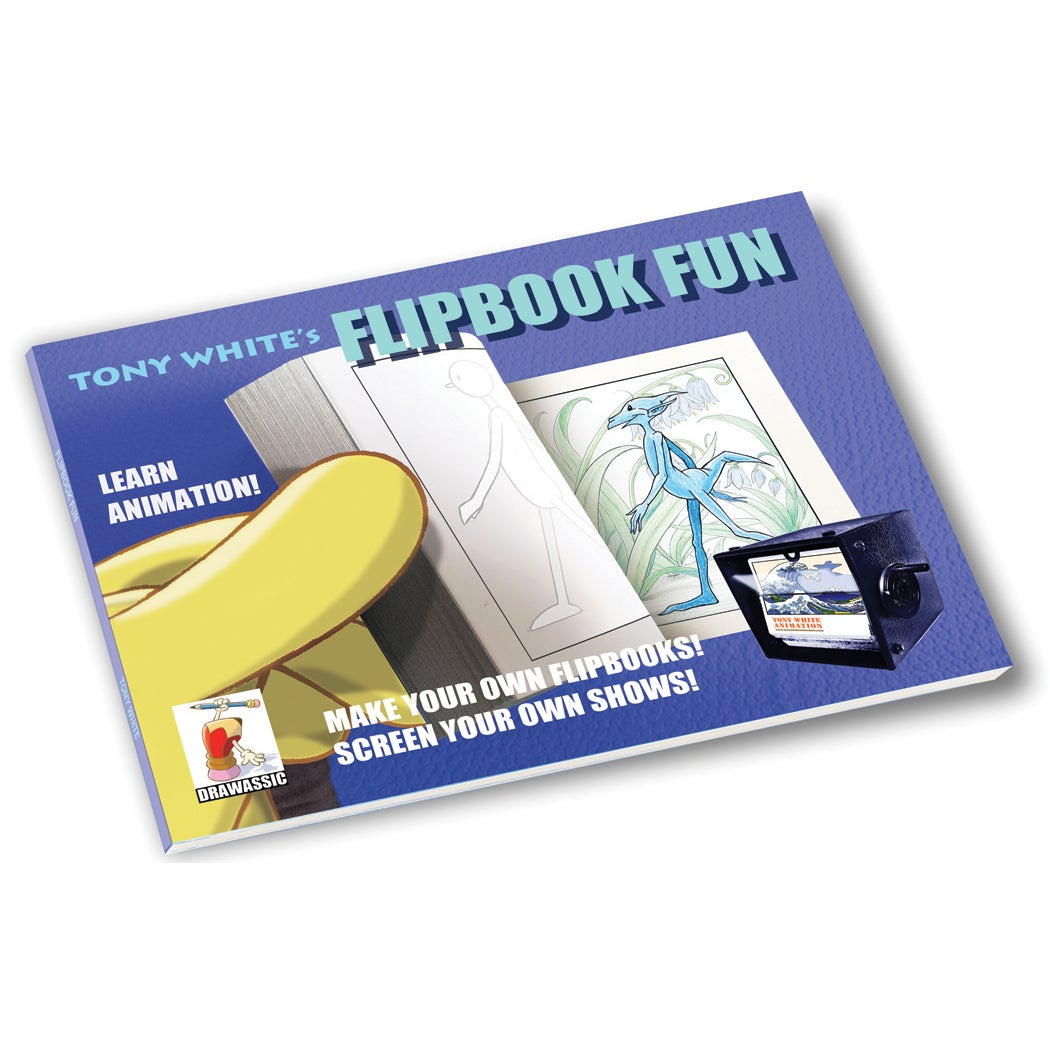 Image of Tony White's FLIPBOOK FUN ~ 'Walk the Walk' (Signed)