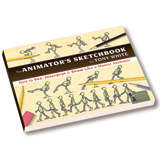Image of ANIMATOR'S SKETCHBOOK (Signed Book)