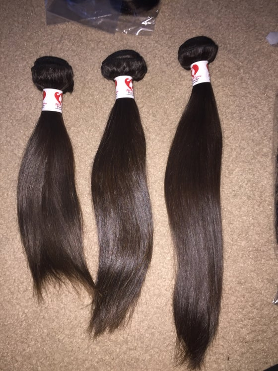 Image of #1SOLD 10A Mink Virgin Peruvian Straight