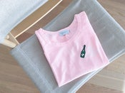 Image of Printed Pink Sweatshirt