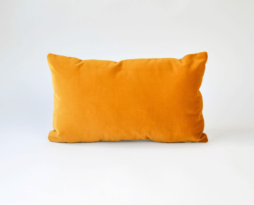 Image of Galaxy Velvet Gold Cushion Cover - Lumbar (LAST ONE SAMPLE)