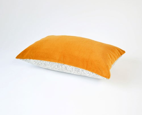 Image of Galaxy Velvet Gold Cushion Cover - Lumbar