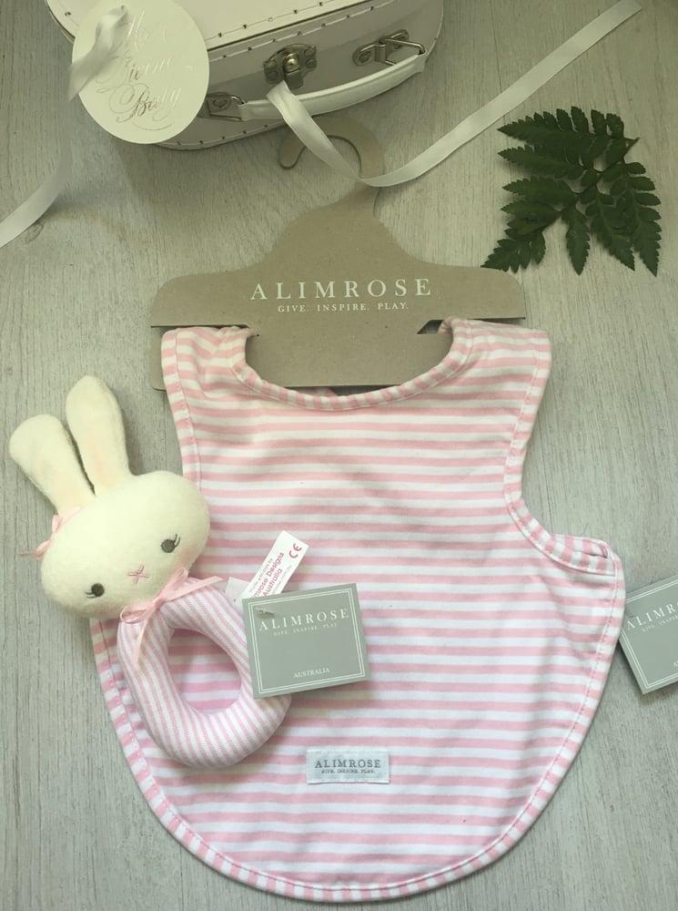 Image of Pretty in Pink strip Hamper