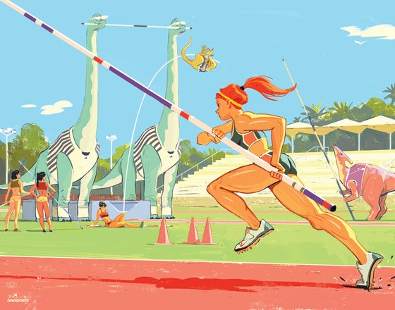 Image of DINO POLE VAULT A