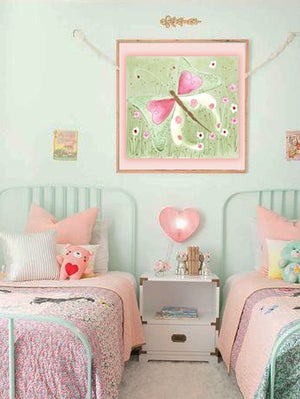 Image of Shabby Butterfly PRINT