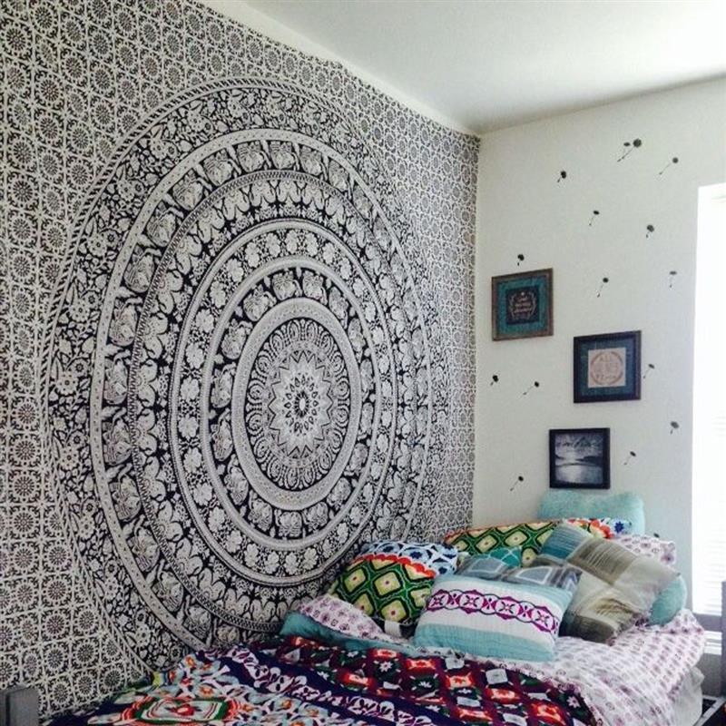 Image of Pearl Mandala Tapestry