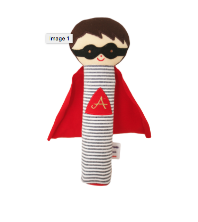 Image of ALIMROSE SUPER HERO SQUEAKER
