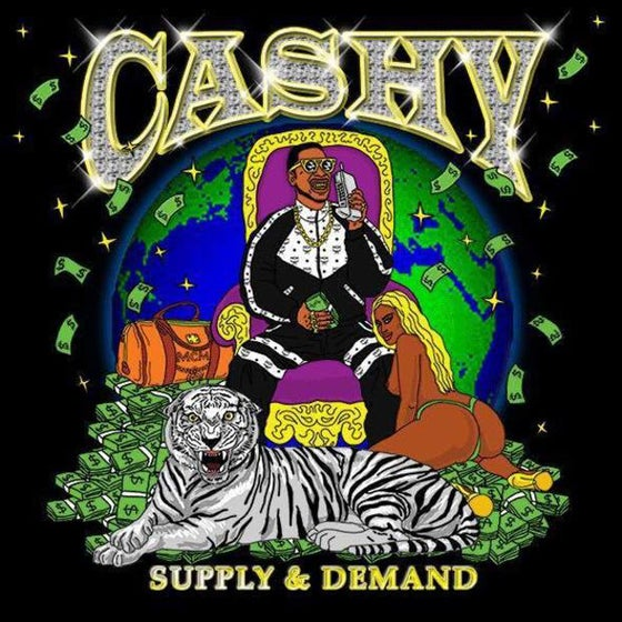 Image of CASHY: SUPPLY & DEMAND - CASSETTE TAPE