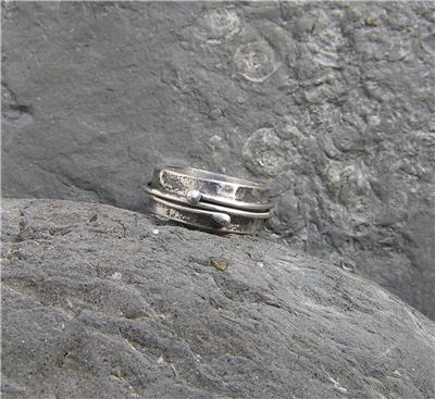 Image of Silver oxidised ring
