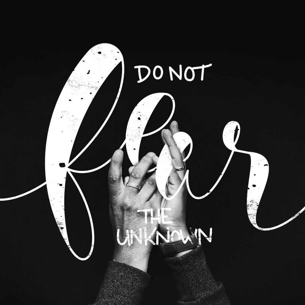 Image of Typecard - Don't Fear