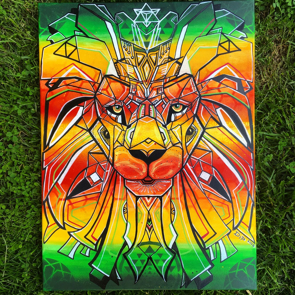 Image of Sacred Lion