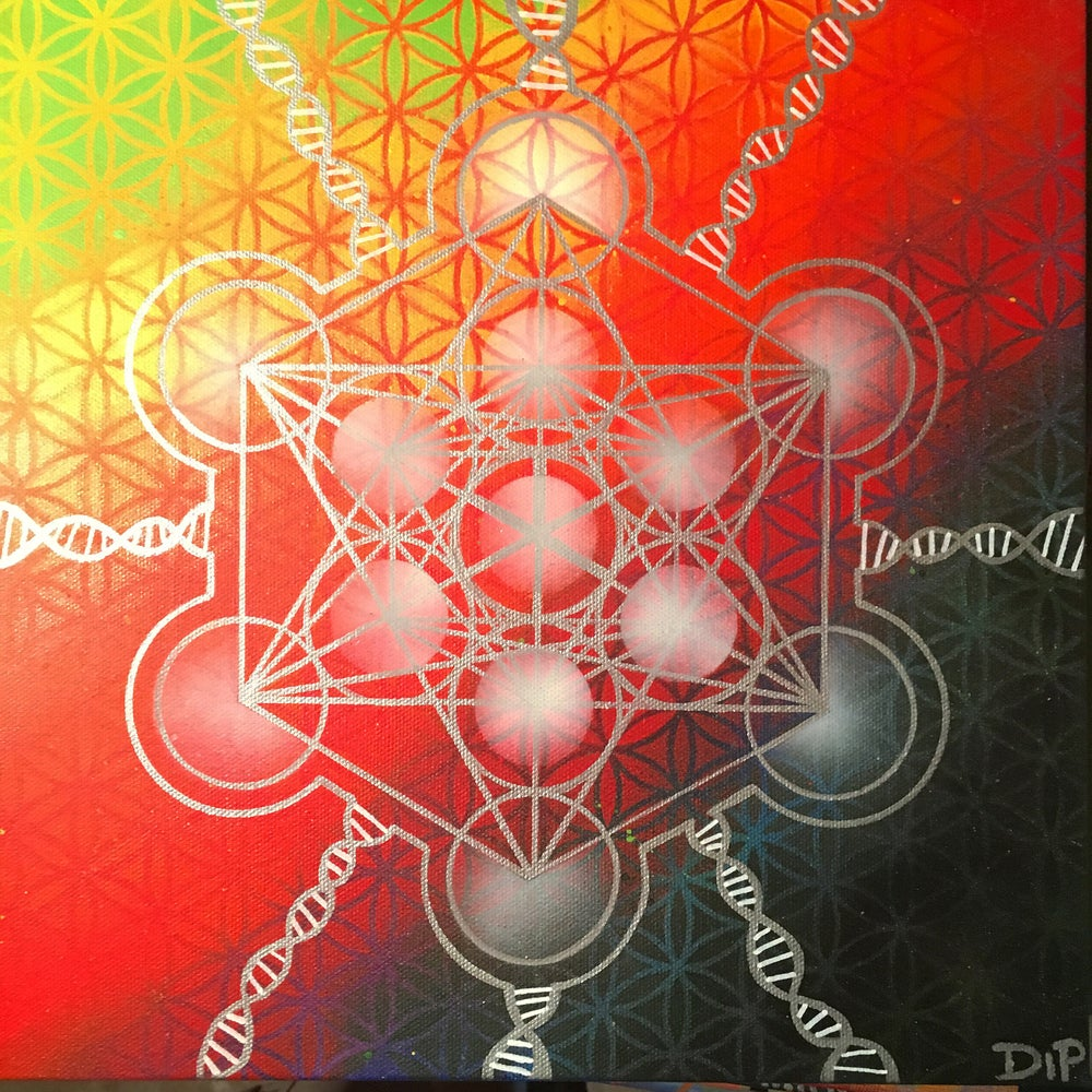 Image of Metatrons Cube of Connection