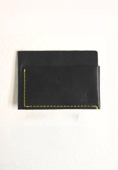 Image of black cardholder