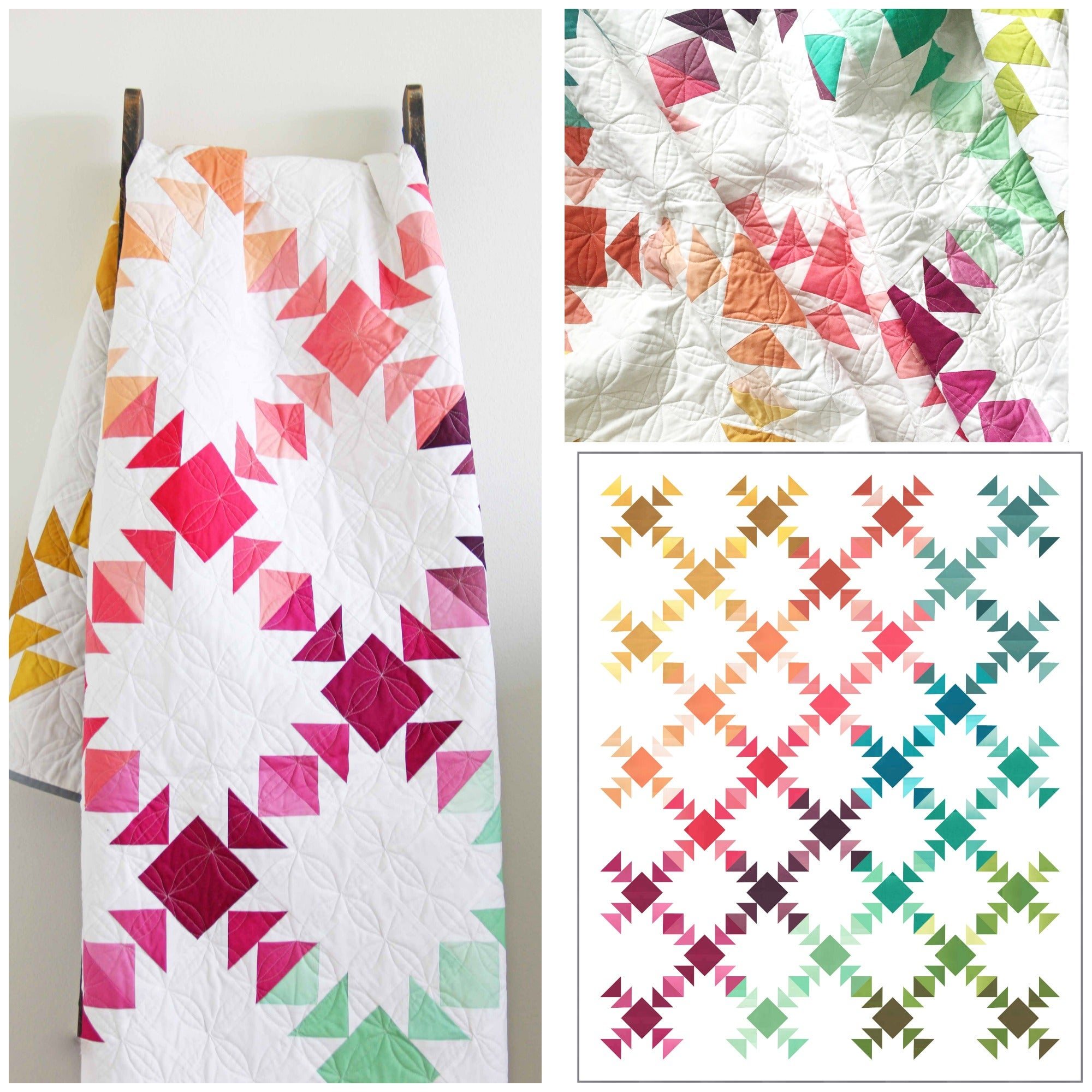 V And Co  U2014 Prism Ombre Quilt Pdf