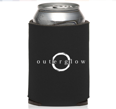 Image of Outer Glow can koozie