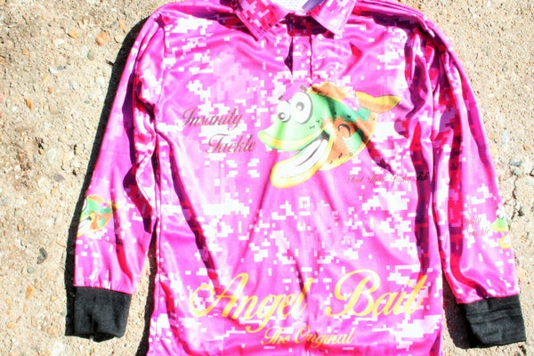 Image of Fishing jersey (Pink)